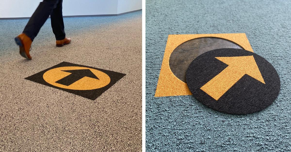 DESSO Icons bewegwijzering tapijt